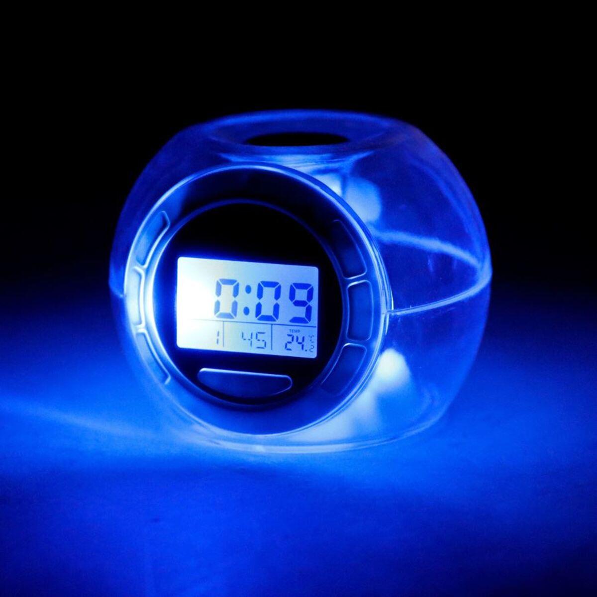 Bild 3 von Grundig LED-Kalenderuhr mit Weckerfunktion und Thermometer
