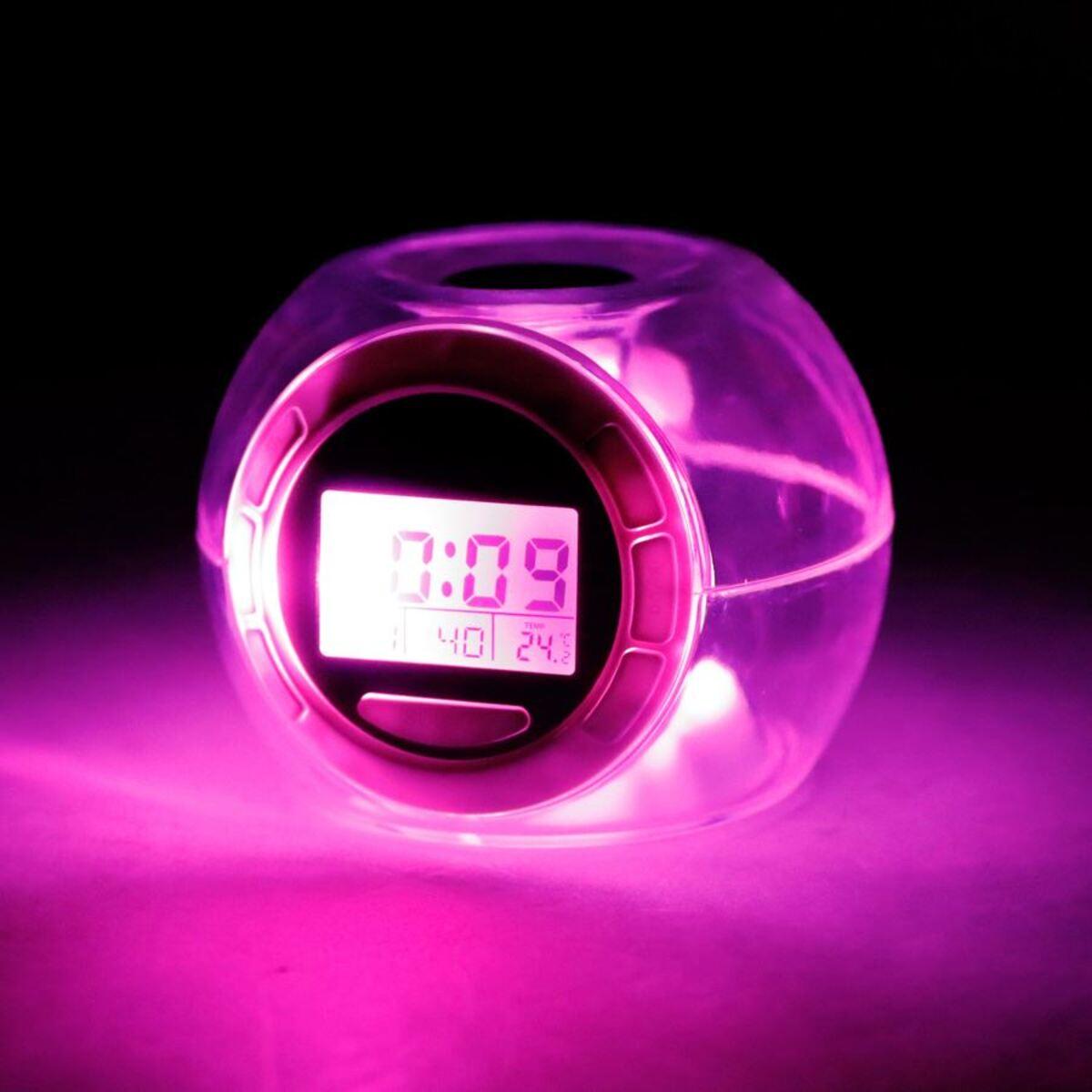Bild 4 von Grundig LED-Kalenderuhr mit Weckerfunktion und Thermometer