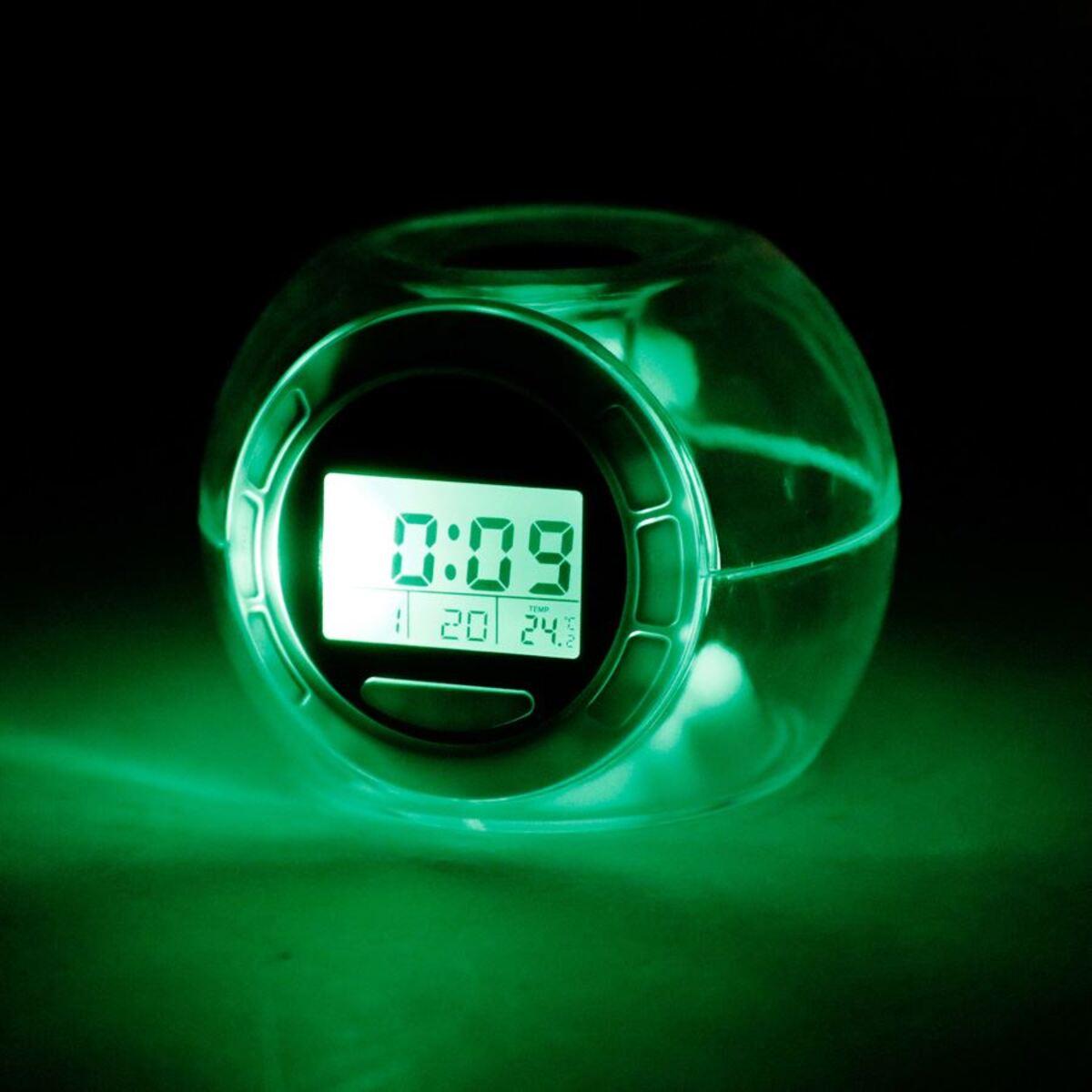 Bild 5 von Grundig LED-Kalenderuhr mit Weckerfunktion und Thermometer