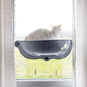 Fensterliegeplatz für Katzen