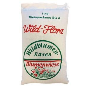 Wild-Flora Wildblumenrasen im Leinenbeutel 1kg