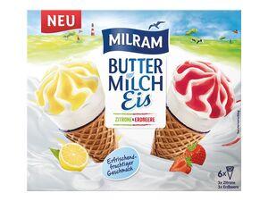 Milram Buttermilch-Eis