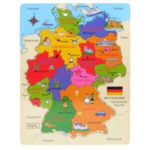 Holz-Puzzle Deutschland