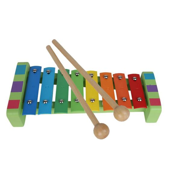 Kinder-Xylophon mit 2 Klanghölzern
