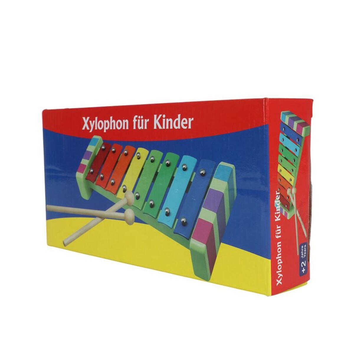 Bild 2 von Kinder-Xylophon mit 2 Klanghölzern