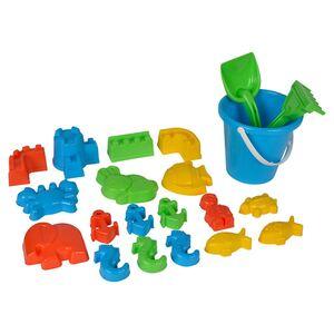 Sandspielzeug mit Eimer 22-teilig