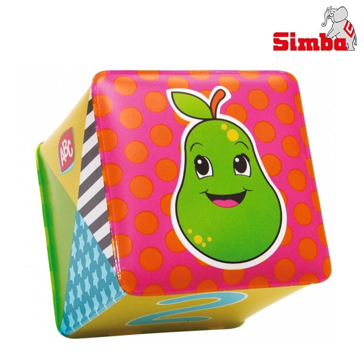 Bild 2 von Simba ABC weiche Spielwürfel 6er-Set