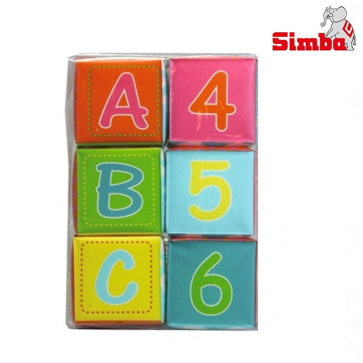 Bild 3 von Simba ABC weiche Spielwürfel 6er-Set