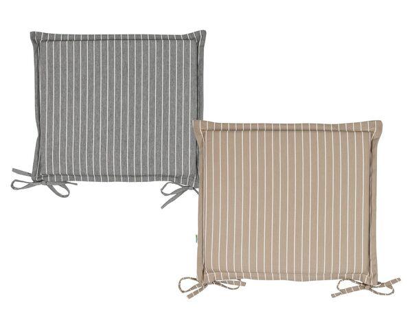 FLORABEST Wende-Sitzkissen für Klappstuhl 38x42x3cm