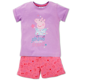 PEPPA PIG Mädchen-Shorty-Pyjama