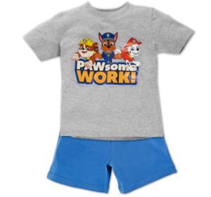 PAW PATROL Jungen-Shorty-Pyjama
