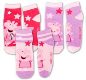 PEPPA PIG Mädchen-Sneakersocken