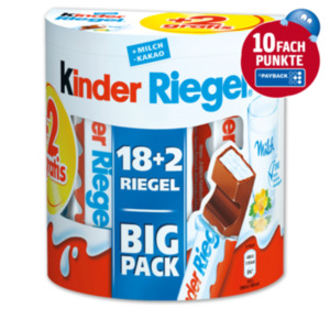 FERRERO Kinder Riegel Big Pack