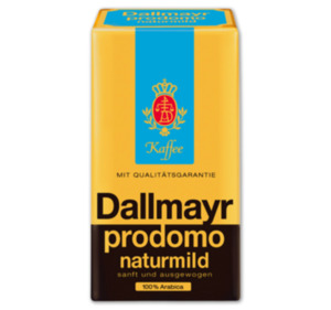 DALLMAYR Kaffee prodomo naturmild