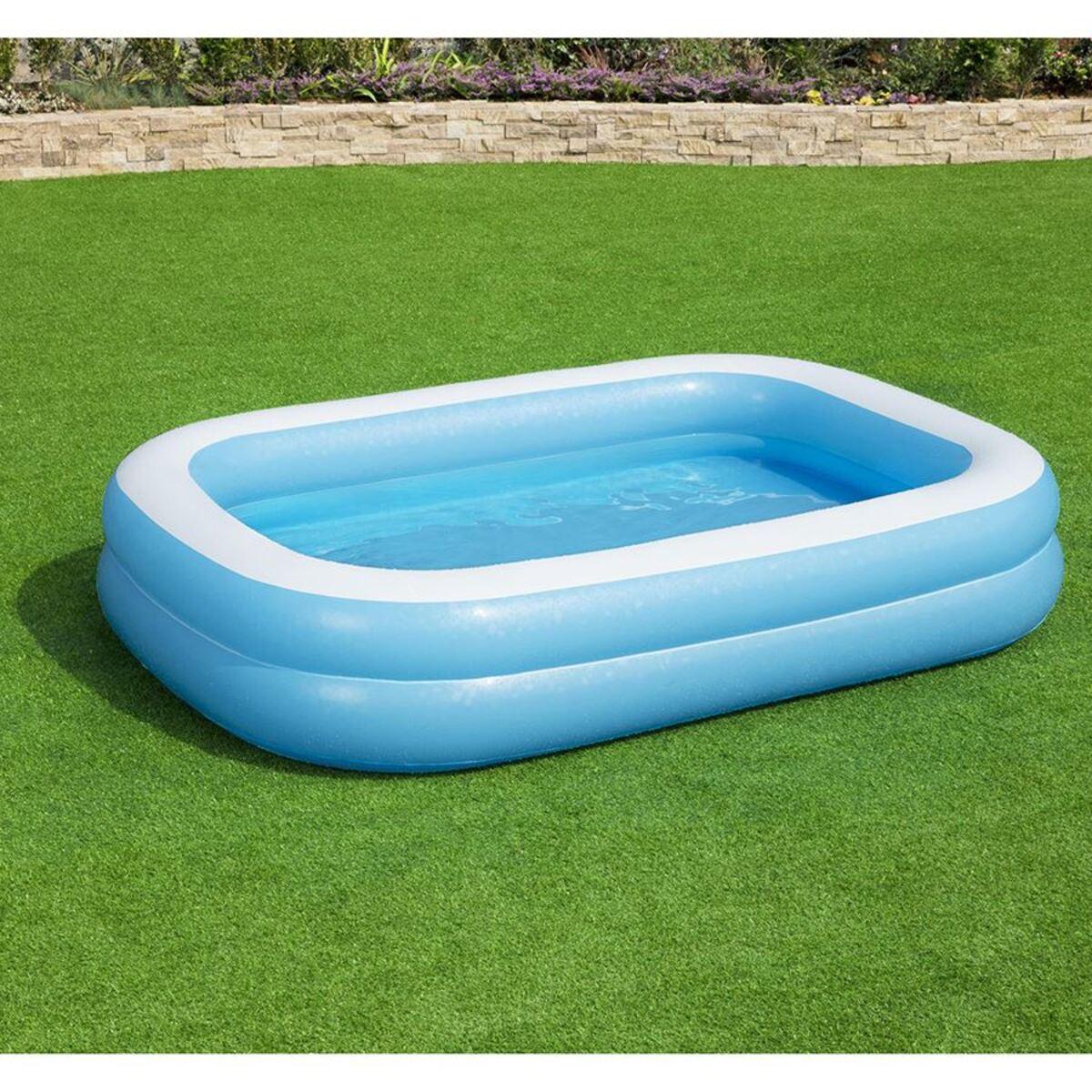 Bild 2 von Bestway #54006 Family Pool Blue 262x175x51cm