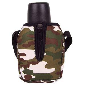Edelstahl-Feldflasche mit Kochbehälter