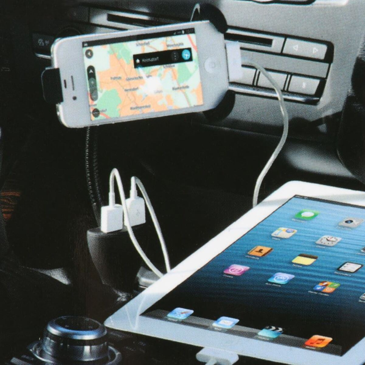 Bild 3 von Smartphone-Halterung mit Ladefunktion