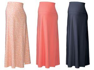 ESMARA® Umstands Kleidrock, als Rock oder trägerloses Kleid tragbar, mit Seitenschlitz