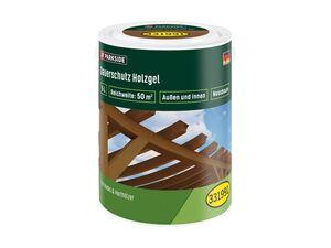 Dauerschutz-Holzgel, 5 l Inhalt, tropfgehemmt, hoher UV- und Holzwetterschutz