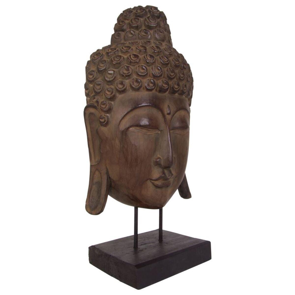 Bild 3 von Buddha-Maske aus Albizia-Holz