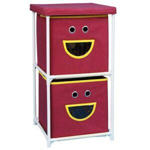 Stoffkommode Smiley mit 2 Schubladen