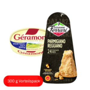 Giovanni Ferrari Hartkäse oder Géramont Weichkäse