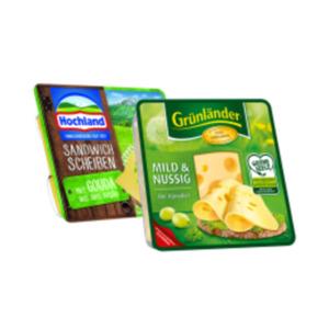 Grünländer, Sandwich-Scheiben oder Hofkäse