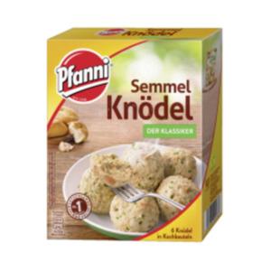 Pfanni Knödel im Kochbeutel