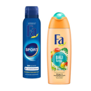 Fa Duschgel, Deo Spray,  Roll-On