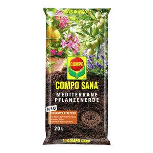 SANA® Mediterrane Kübelpflanzenerde 20 L