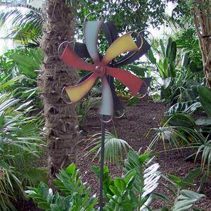 Gartenstecker Windrad