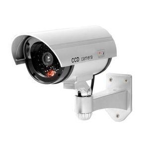 LED-Überwachungskamera-Attrappe 19x7cm