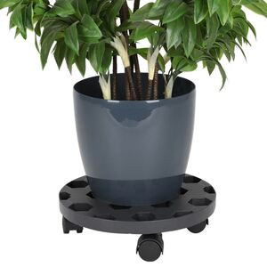 Pflanzenroller 30cm Anthrazit