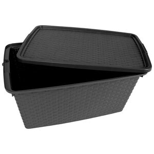 Aufbewahrungs-Box Intrigo 40L Rattanoptik