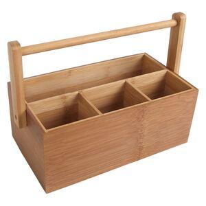 Bambus-Tischorganizer