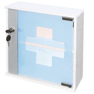 Hausapotheke mit Glastür