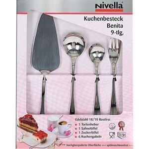 Nivella Kuchenbesteck Benita 9-teilig