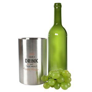 Weinkühler aus Edelstahl