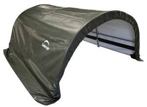 ShelterLogic Run-In-Weidezelt, 7,8 m² grün Shelter-Logic