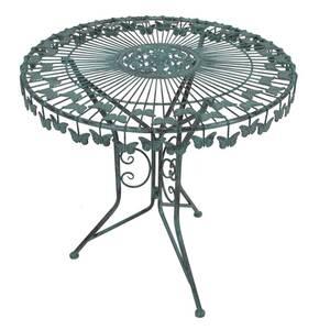 Deko-Tisch mit Schmetterlingsmotiv Garden Pleasure