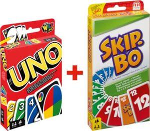 Bundle Kartenspiele: Uno + Skip-Bo