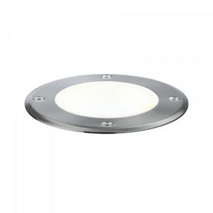 Paulmann Plug & Shine Bodeneinbauleuchte ,  IP67, 3000 K, 38°, 6 W, 24 V, silber, schwenkbar