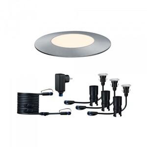 Paulmann Plug & Shine Basisset Floor Mini ,  IP65, 3000 K, 3 x 2,5 W