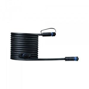 Paulmann Plug & Shine Kabel ,  IP68, 5 m, schwarz, mit zwei Anschlussbuchsen