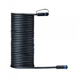 Paulmann Plug & Shine Kabel IP68 ,  IP68, 10 m, schwarz, mit zwei Anschlussbuchsen, 2 x 1,5 qmm