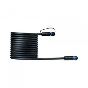 Paulmann Plug & Shine Kabel IP68 ,  IP68, 5 m, schwarz, mit zwei Anschlussbuchsen, 2 x 1,5 qmm