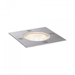 Paulmann Plug & Shine Bodeneinbauleuchte ,  IP65, eckig, 3000 K, 4 W, 24 V, silber