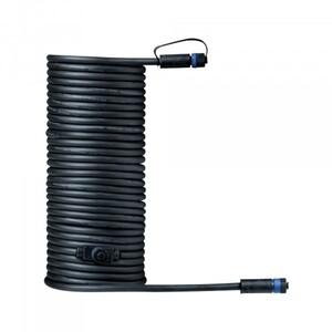 Paulmann Plug & Shine Kabel ,  IP68, 10 m, schwarz, mit zwei Anschlussbuchsen, 2 x 1,5 mm²