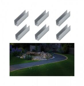 Paulmann Plug & Shine Neon LED Stripe Clip ,  6 Montage Clips, 5 cm