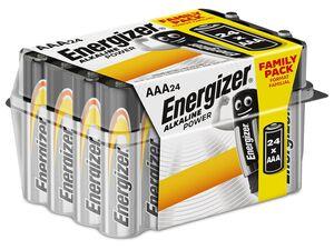 Energizer  Alkaline Power Micro AAA Batterie Box 24 Stück